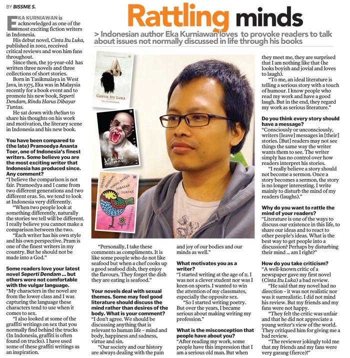 The Sun Dialy, 24 Juli 2014