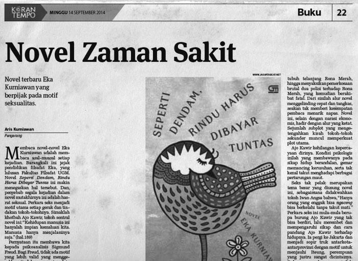 Koran Tempo, 14 September 2014
